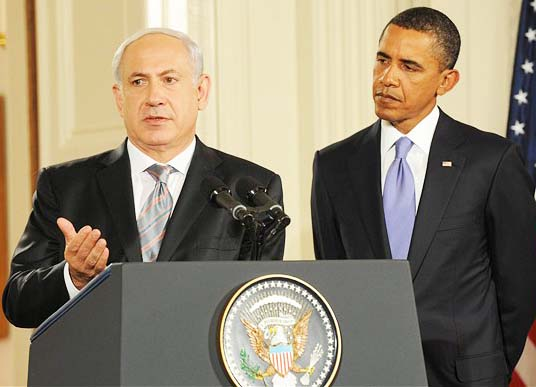 Benjamin Netanyahu must not put his trust in the corrupt fifth columnist Varack Hussein Obama.