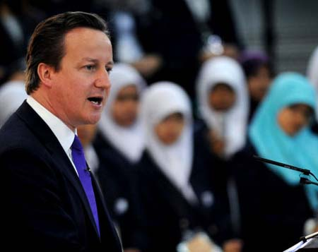 UK Prime Minister David cammeron is ready to sell out good old England to the Muslims.
