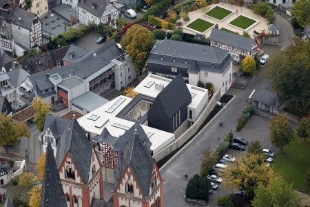 The palace of the Bishop of Limburg,