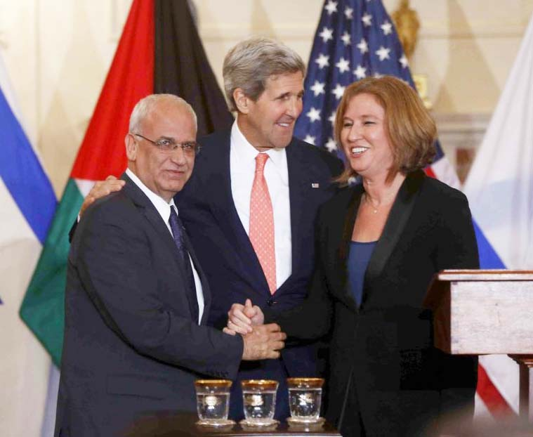 "John Kerry tries to force Israel to give in to Islamic demands for ""peace""."