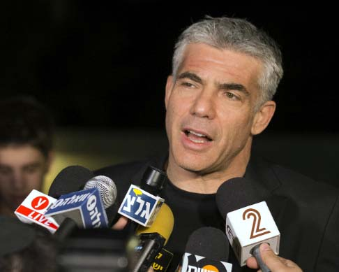 "Yair Lapid is ready to accept a ""peace plan"" that will abolish Zionism."