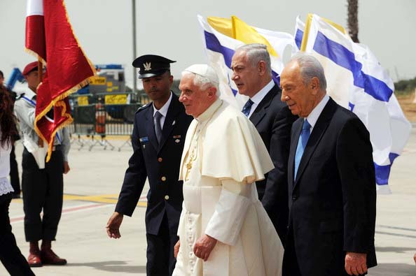 The Israeli authorities must skip the red carpet welcomes, and stop paying the bills for the papacy.