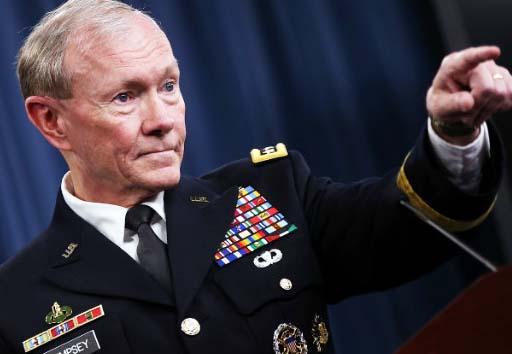 The US Chief of staff say do not point the fingers on Israel.
