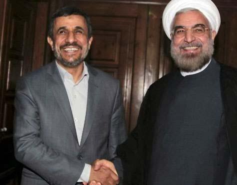 Former President Ahmadinejad spoke like a Nazi, and Rohani follows suit.