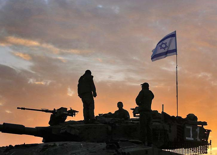 Israeli soldiers fighting for the survival of the only free and democratic state in the ME.