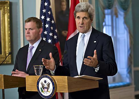 John Baird is not ready to compromise with the Ayatollah, and betray Israel.