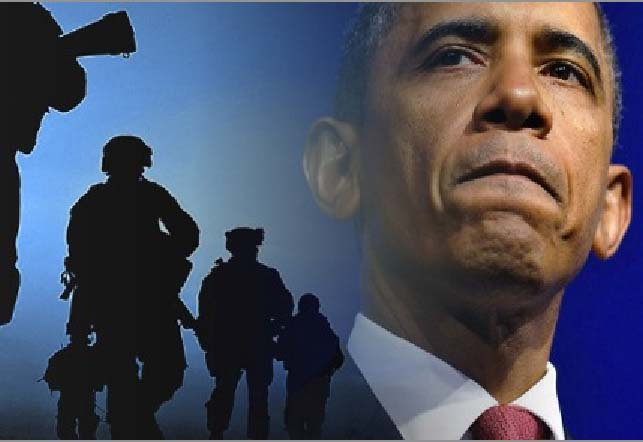 Obama is leading the American nations towards the final battle of Armageddon.
