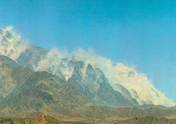 The mountain of Pakistan almost melted, as the Islamic republic triggerd nuclear bombs in 1998.