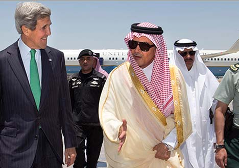 John Kerry and prince Faisal agree that Saudi women do best not driving.