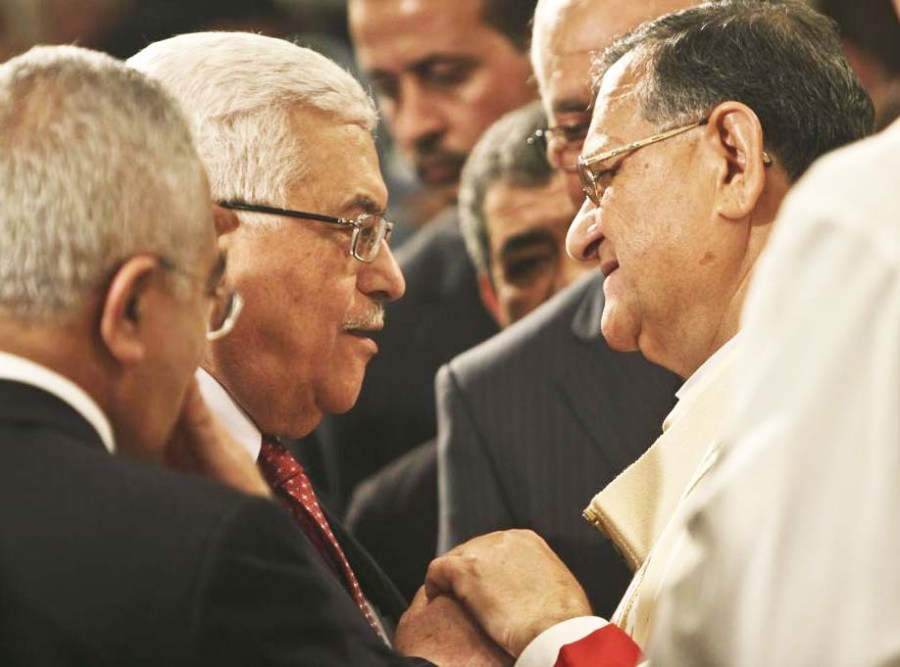 "The Popes man in Jerusalem and the PLO-leader serve the same ""god""."