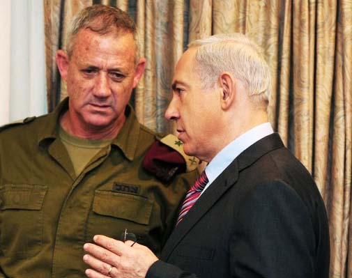 Benamin Netanyahu have given fresh orders to Chief of staff, Gneral Benny Gantz.