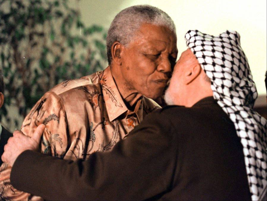 The ANC leader also supported the PLO and Islamic terrorism against Israel.
