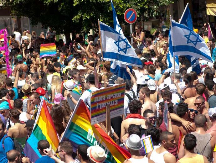 The gay parade in Tel Aviv is no better than gay parades all over the World.
