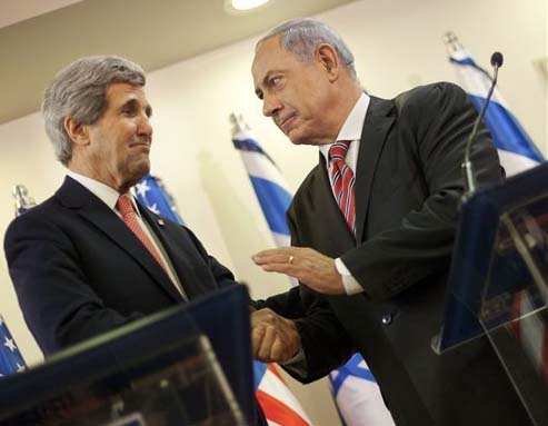 "John Kerry works for the Kingdom of darkness, to find a solution to the ""Jewish problem""."