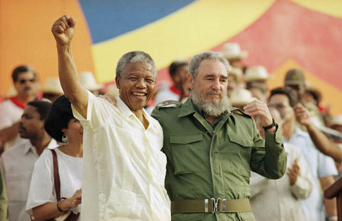 The two communist leaders never stopped supporting each other.