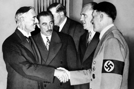A handshake that created history.