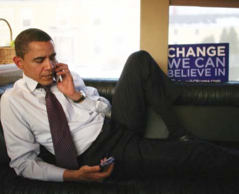 The man of Obama hack your smartphone, and make a profile on you.