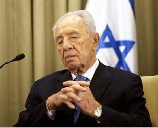 Shimon Peres is no longer a Zionist who believe in a united Jerusalem.