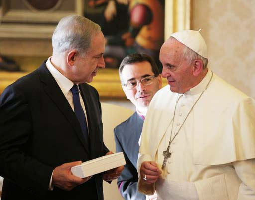 The days of divine judgment is about to begin, the Netanyahu's waiting for the Pope.