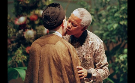 President Mandela always had a deep love for the Iranian leaders.