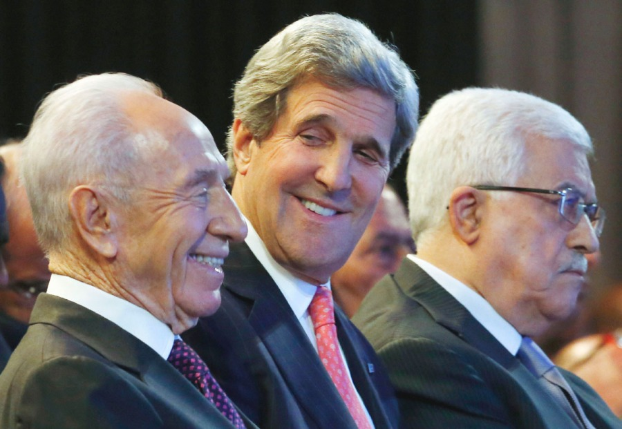 "John Kerry work hard du bring the new ""peace partners"" in under the wings of the Papacy."