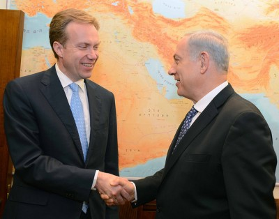 The December visit of the Norwegian FM displayed his bias towards the PLO.