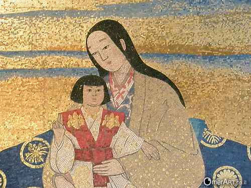This pagan Japanese goddess presented as the mother of the Messiah, pollutes Israel.