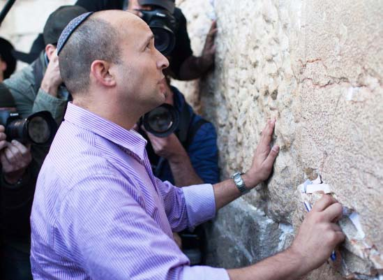 Naftali Bennet fights for the survival of the Jewish state of Israel.