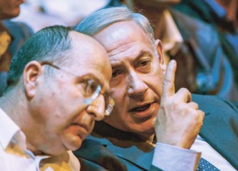 Benjamin netanyahu force his Defense Minister into silence and submission.
