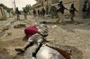 The never ending war crimes of the city of Fallujah.
