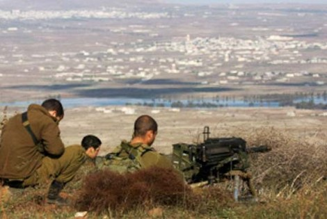 From the liberated Golan Heights, Israeli watchmen can see almost to the city of Damascus.