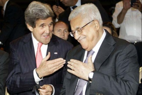 John Kerry front the Saudi Arabian narrative of the formation of Israel.