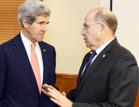 Enough of this. The Israeli Minister of Defense is tired of the endless shuttles of John Kerry