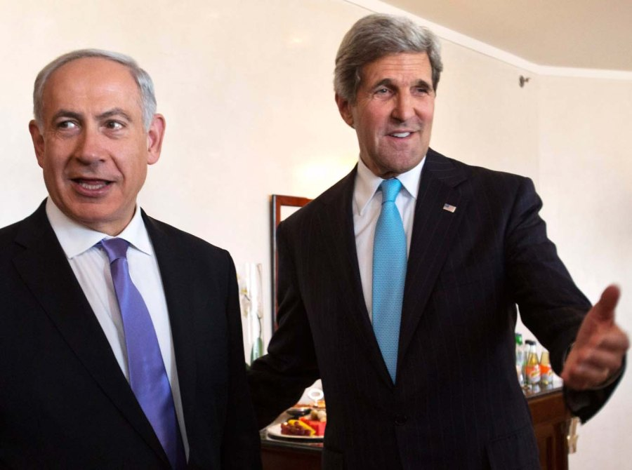 """Benjamin Netanyahu lost the battle for Israel, the day he accepted the concept of a """"Palestinian"""" state."""
