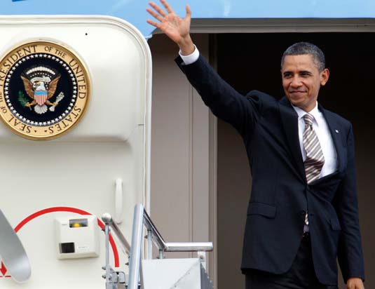 Obama will travel to Rome to assist Pope Francis on his way to Jerusalem.