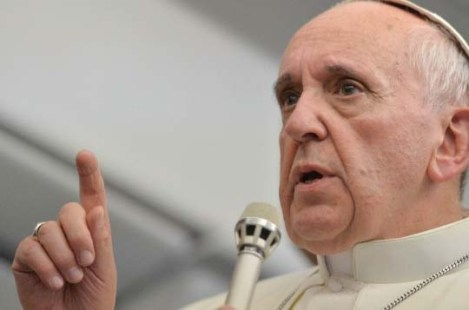 Pope Francis is confronted with the crimes of the religious movement that hide sexual perverts.
