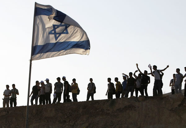 When the Jews are forced off the hills of Judea and Samaria, the whole of Israel can be destroyed.