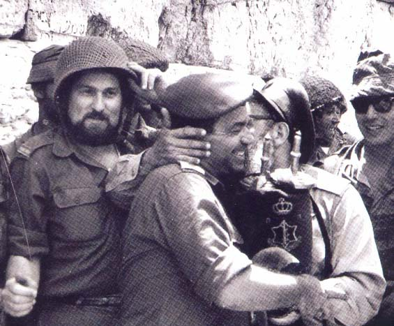 These man liberated Jerusalem in 1967. Kerry tries to revoke their victory.