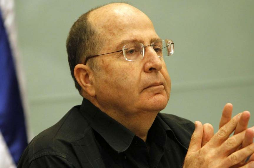 Defense Minister Ya'alon do not buy the faulty doctrines of the Obama administration.