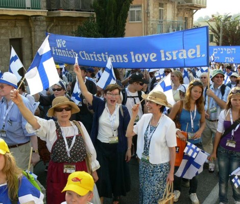 Those who truly love Israel preach the cross and the blood of Jesus, also to Jews.