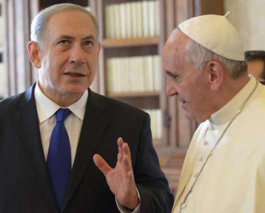 "Benjamin Netanyahu only understands in part that the Pope is not a trustworthy ""peace partner""."