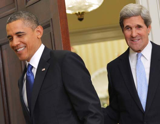 Obama and Kerry works for the destruction of Zionist Israel, and wants to use NATO as their tool.