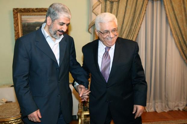 The leaders of the Hamas and the PLO follow different strategies in their joint bid to destroy Israel.