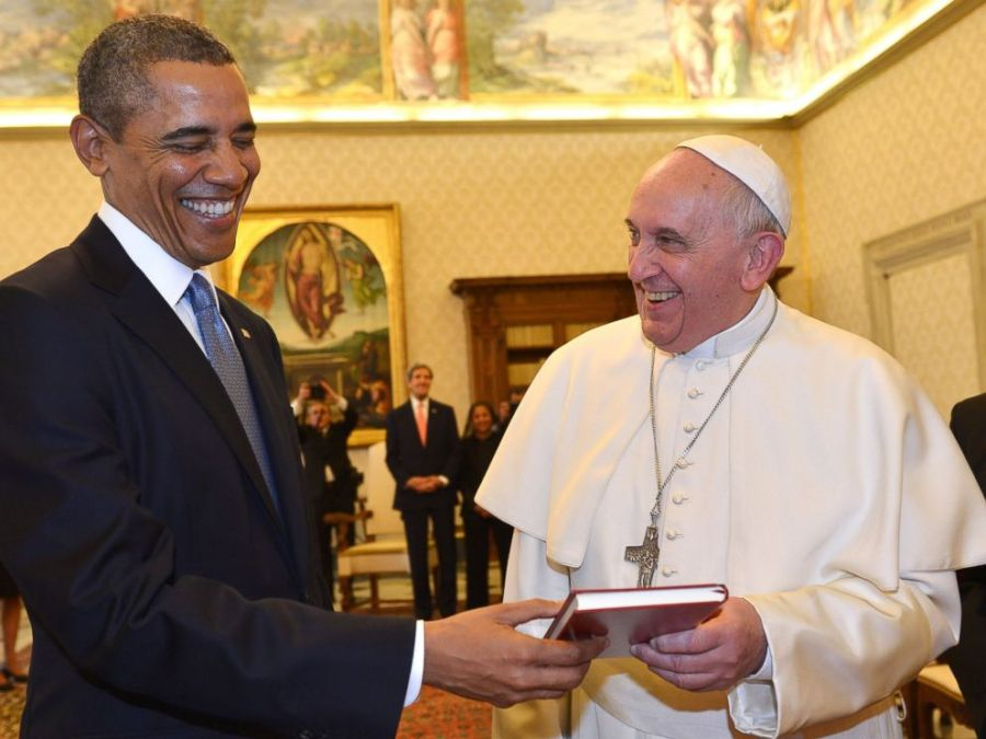 The Pope and Obama might have a plan for a joint travel to Jerusalem.