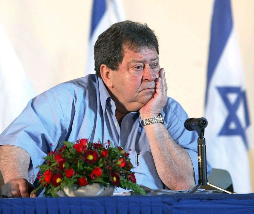 Binyamin Ben-Eliezer feel many Europeans are in danger of supporting a new Holocaust.