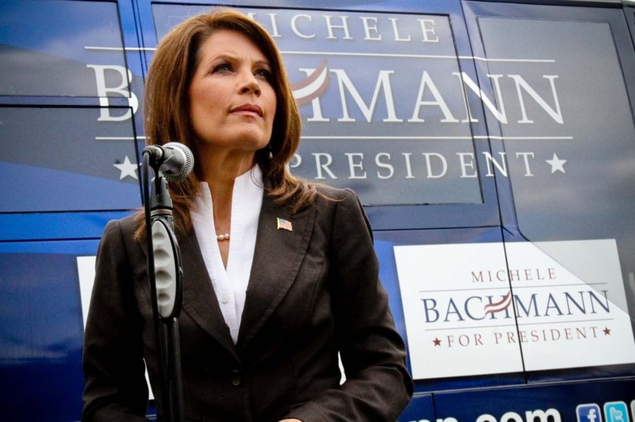 Michele Bachmann tells the truth about an ongoing liberal Jewish betrayal of the state of Israel.