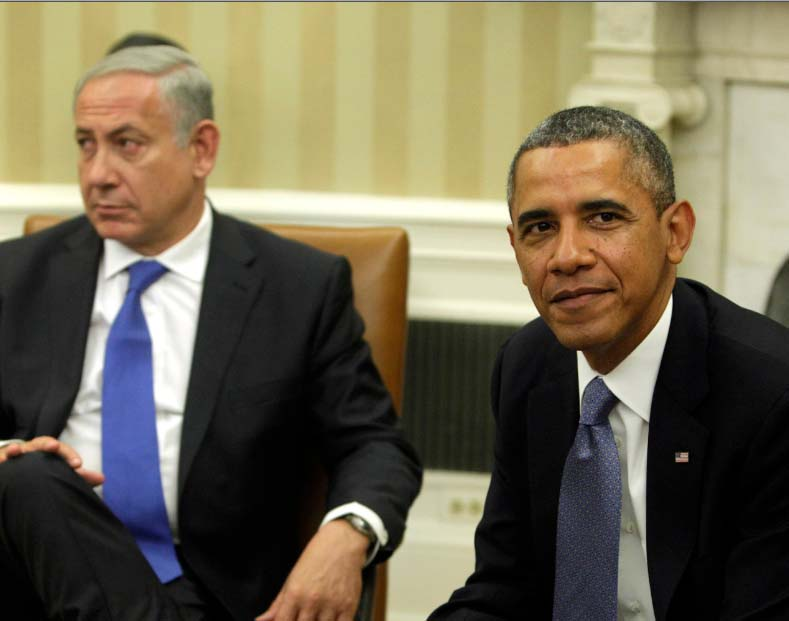 Barack Hussein Obama needs to renounce the Islamic narratives and defamation campaigns launched against Israel.