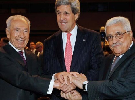Shimon Peres seems to have given an oat to support the enemies of peace and God of Israel.
