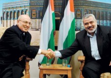 Nabil Shaath and Hamas leader Ismail Hanyeath wants to squees the Jewish peiople onto death.