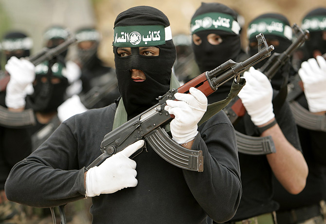 "The Hamas is back in the limelight, as a new ""peace partner"" for Israel."
